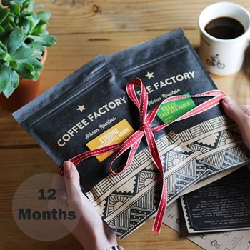 Discovery Roasters choice, 12 months subscription
