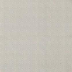 Petit Diamond Polypropylene indoor/outdoor rug, W61 x L91cm, light blue/ivory
