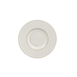 Natural Canvas Tea/coffee saucer, 16.5 x 2.5cm