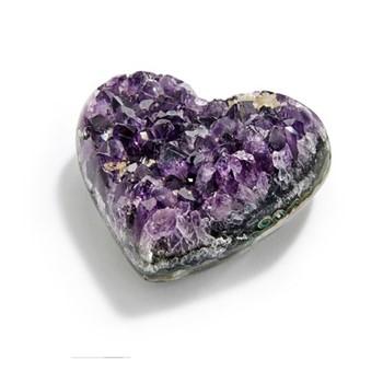 Cuore Hearts, L8 x W10 x H8cm, amethyst