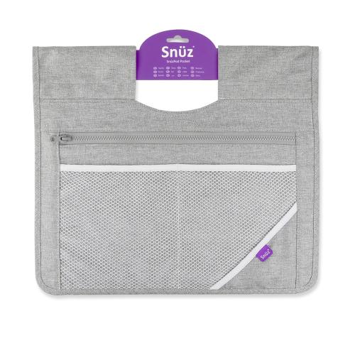 SnuzPod3 Storage pocket, W35 x L40cm, Dusk Grey