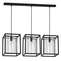 Chester Triple light, L90cm, black