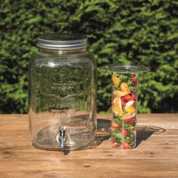 Home Made Drinks Dispenser, 7.5 litres, Glass
