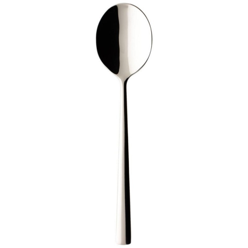 Piemont Cream soup spoon, stainless steel