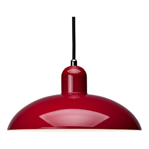 Kaiser Idell-6631 P Pendant lamp, H13.5 x Dia28.5cm, Ruby Red