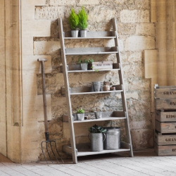 Aldsworth Wide shelf ladder, spruce
