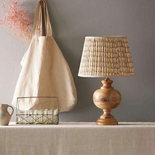 Little Greene - Venus Table lamp, H36 x W18cm, Royal Navy