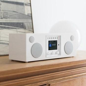 Duetto Smart speaker, L37 x W19 x H14.2cm, piano white