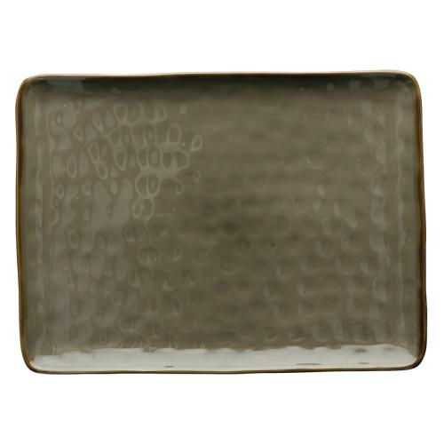 Concerto Rectangular tray, L36 x W26.5cm, Grey
