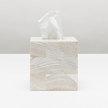 Palermo Tissue box, H15cm, natural