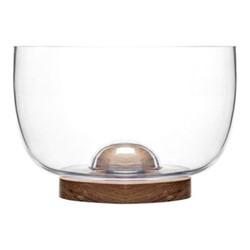 Nature Large serving bowl, Dia22 x H15cm, oak