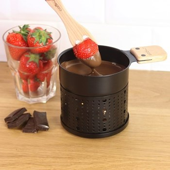 Chocolate fondue set for 2 people