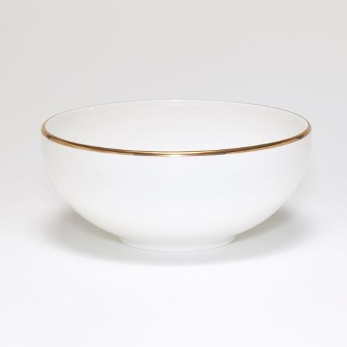 Breakfast/soup bowl, D15cm, Gold