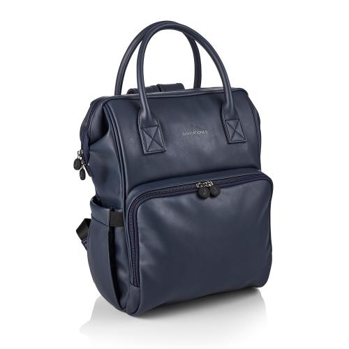 Amy Changing bag, Navy, H39 x W38 x L21cm, Blue