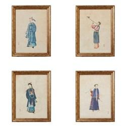 Set of 4 framed prints