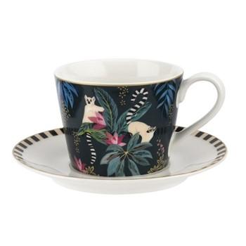 Tahiti - Lemur Teacup & saucer