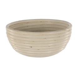 Round dough proving basket, 20 x 8cm - 750g, natural cane