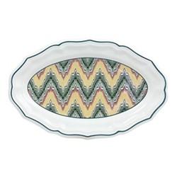 Dominoté - Louis XIII Oval platter, 41 x 26cm