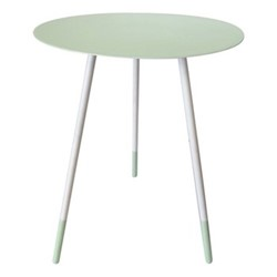 Large round table, H59cm x Dia45cm, pistachio