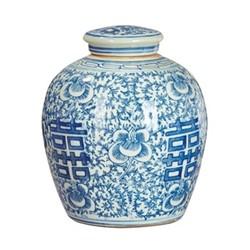 Minxian Minxian jar, blue