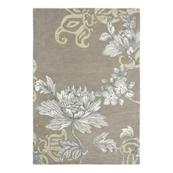 Fabled Floral Rug, W170 x L240cm, grey