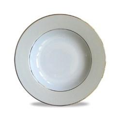 Clair de Lune Uni Soup plate corolle, 19cm