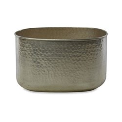 Large oval planter 25 x 37 x 21.5cm