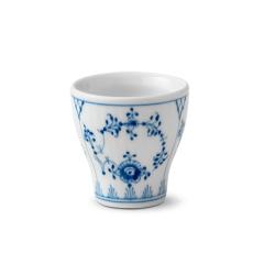 Blue Fluted Plain Egg cup, H 4.8cm
