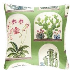 Glasshouse  - Terrariums Cushion, 50 x 50cm, botanical green