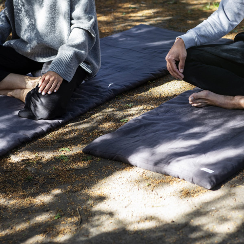 Joy Vasiljev Meditation Mattress, 70cm x 200cm, Natural White