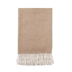 Vintage Throw, L180 x W130cm, cinnamon