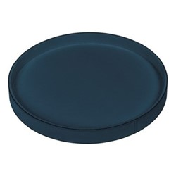 Polo Round tray, 37.5cm, petrol blue