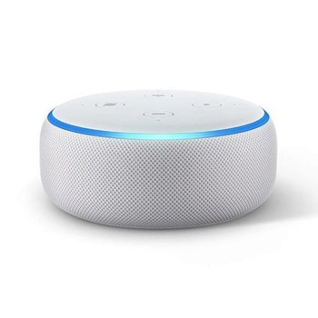 (2018) Echo Dot smart speaker, sandstone