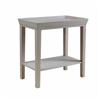 Pimlico Side table, W56 x D33 x H58cm, soft grey