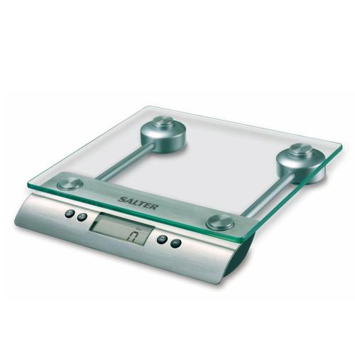 Aquatronic Electronic kitchen scales, Glass/Steel