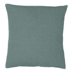 Maia Cushion cover, 45 x 45cm, green/grey