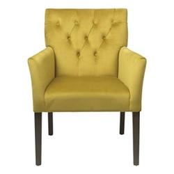 Sander Dining chair, H90 x W60 x D46cm, mustard