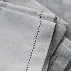 Tablecloth, 180 x 180cm, raw beige