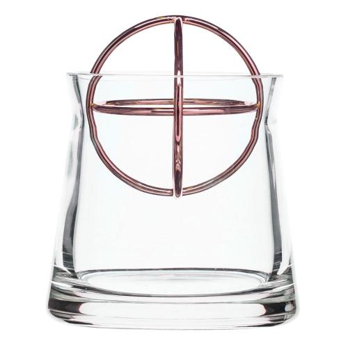 Sphere Small vase, Dia10 x 13.5cm, Copper