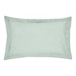 300TC Plain Dye Oxford pillowcase, L74 x W48cm, seaglass