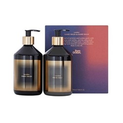 London Hand duo gift set, 2 x 500ml, black & gold