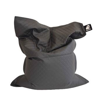 Junior - Quilted Beanbag, 140 x 110cm, smoke grey