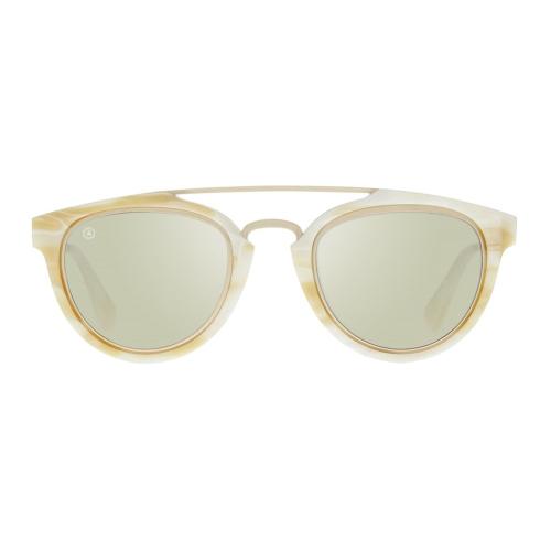 Rollright Sunglasses, W13cm, Ivory Frame