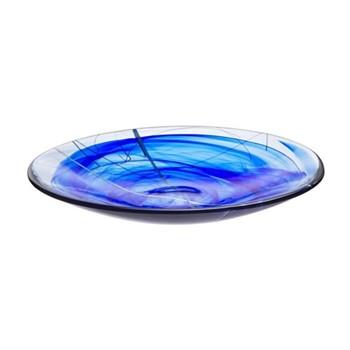 Contrast Dish, D38cm, blue