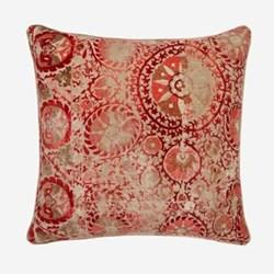 Iznik Red Cushion, H55 x W55cm, red
