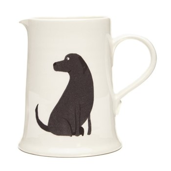 Labrador Very useful jug, H12cm