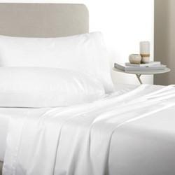 Tencel King size flat sheet, 285 x 260cm, white