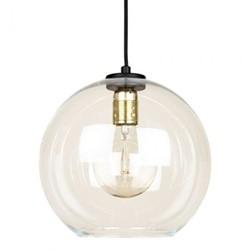 Globe Pendant light, 25 x 25cm, mouth blown glass