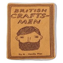 Craftsmen Book Cushion, L42 x H42cm