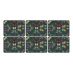 Botanic Garden Harmony Set of 6 placemats, 30.5 x 23cm